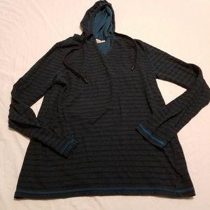 Vans Medium Striped Hooded Sweatshirt